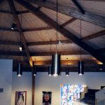 church timber wood beams glulams
