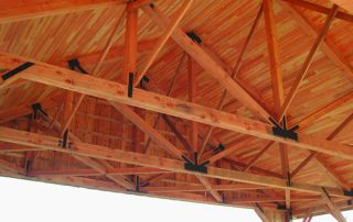 specialty timber wood glulams truss