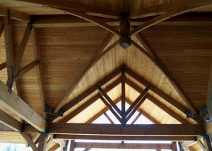 douglas fir outdoor pavilion douglas fir structural timber trusses