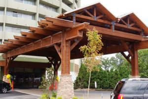 park vista hotel specialty wood timber glulams