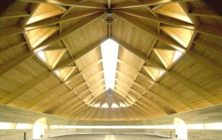 Horse Barn Timber Construction
