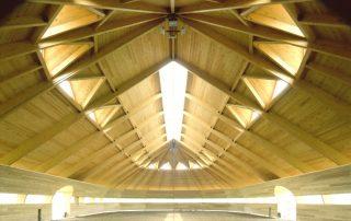 Horse Barn Timber Construction