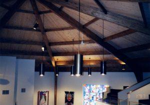 church timber wood beams glulams