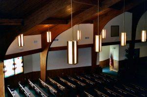 glulams church timber